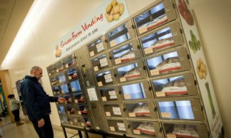 Dundee first city to get vegetable vending machine