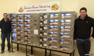 Vegetable vending machine unveiled at Dundee centre